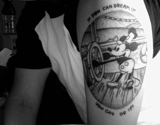 Tatuagens de personagens Disney (42)