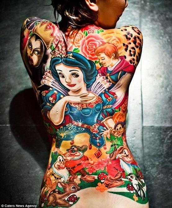 Tatuagens de personagens Disney (22)