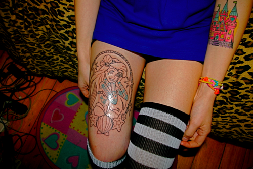 Tatuagens de personagens Disney (7)