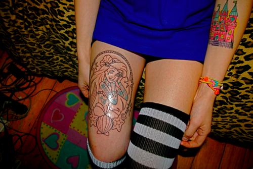 Tatuagens de personagens Disney (7)