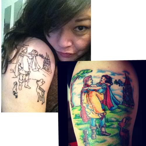 Tatuagens de personagens Disney (3)