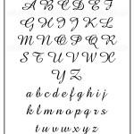 Letra para tatuagem: Fonte Amaze