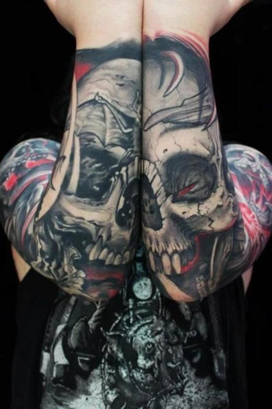 Caveiras tatuadas (1)