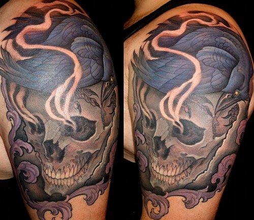 Caveiras tatuadas (20)