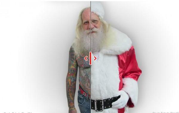Campanha solidária de Natal para tatuados