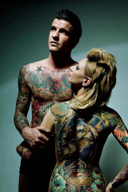 Fotos de casais tatuados 05
