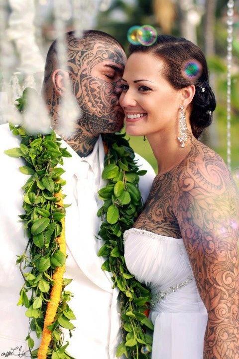 Fotos de casais tatuados 14