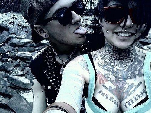 Fotos de casais tatuados 19