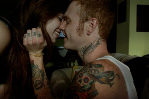 Fotos de casais tatuados 21