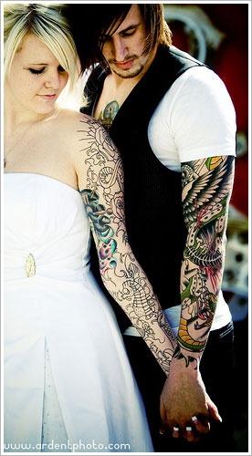Fotos de casais tatuados 32