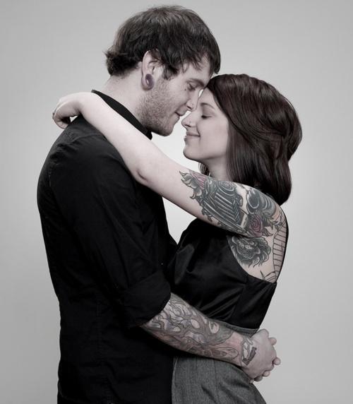 Fotos de casais tatuados 39