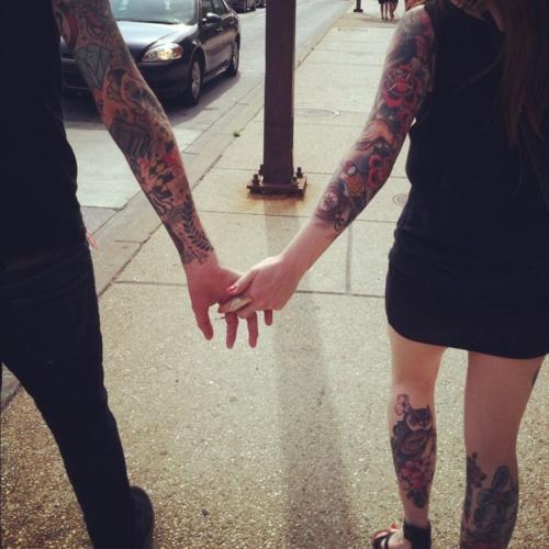 Fotos de casais tatuados 46