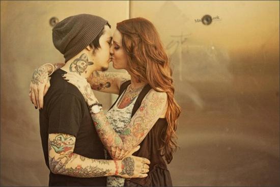 Fotos de casais tatuados 50