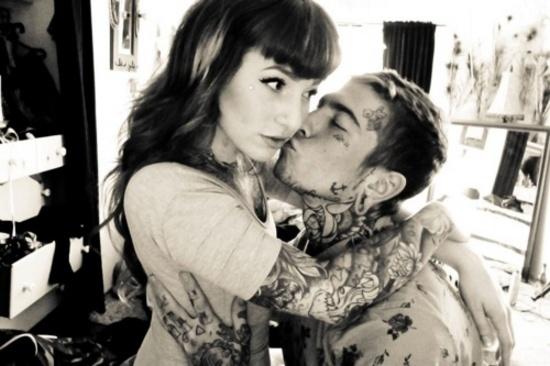 Fotos de casais tatuados 56