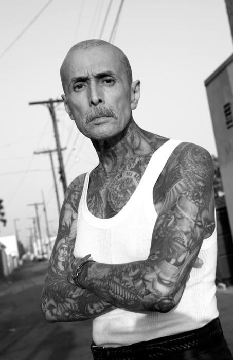 Idosos Tatuados tinta na Pele 15