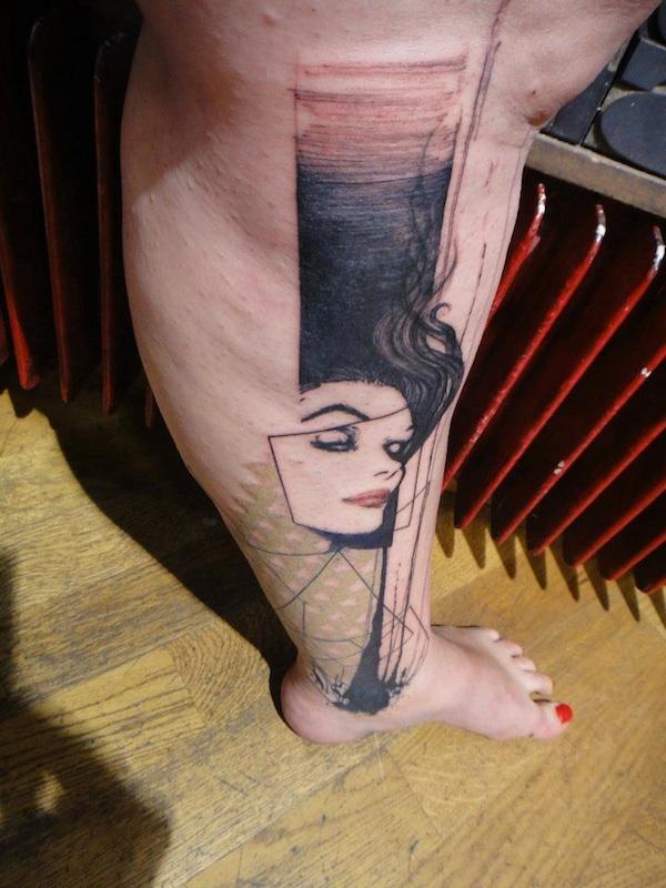 Tatuador xoil needles side tattoo 04
