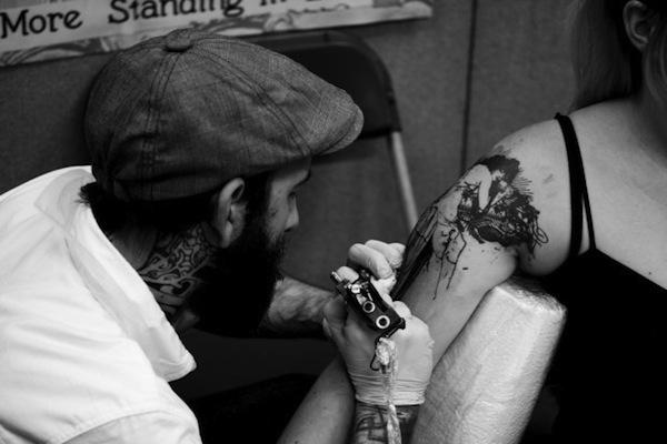 Tatuador xoil needles side tattoo 07