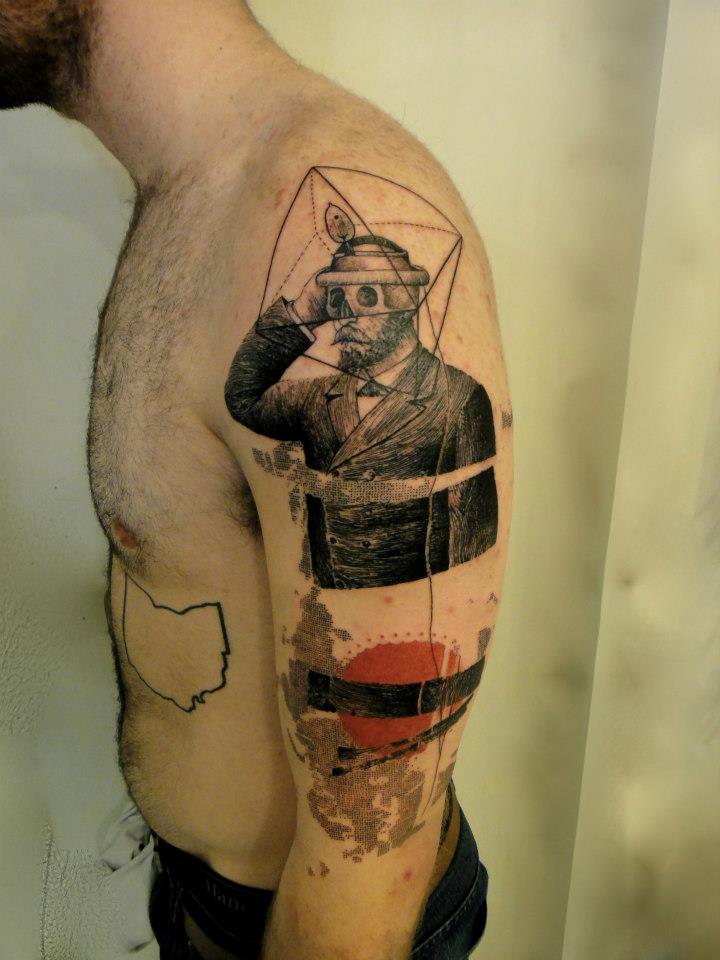 Tatuador xoil needles side tattoo 10