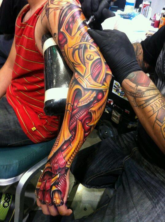 Tatuagens nos bracos 34