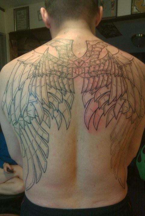 Fotos de tatuagens de asas 02