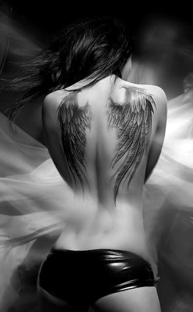 Fotos de tatuagens de asas 14