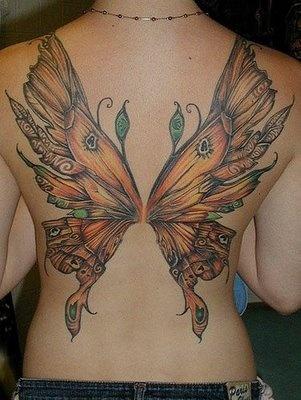 Fotos de tatuagens de asas 27
