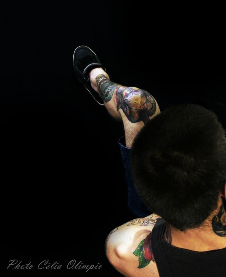 Homem Tatuado Luan dos Anjos 21