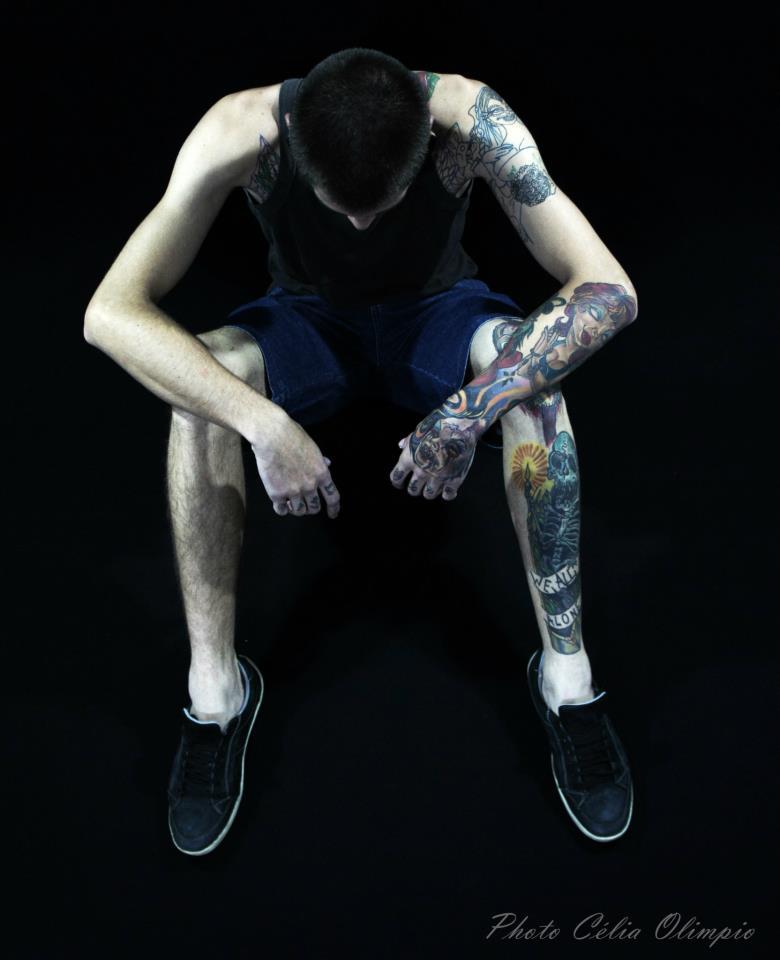 Homem Tatuado Luan dos Anjos 33