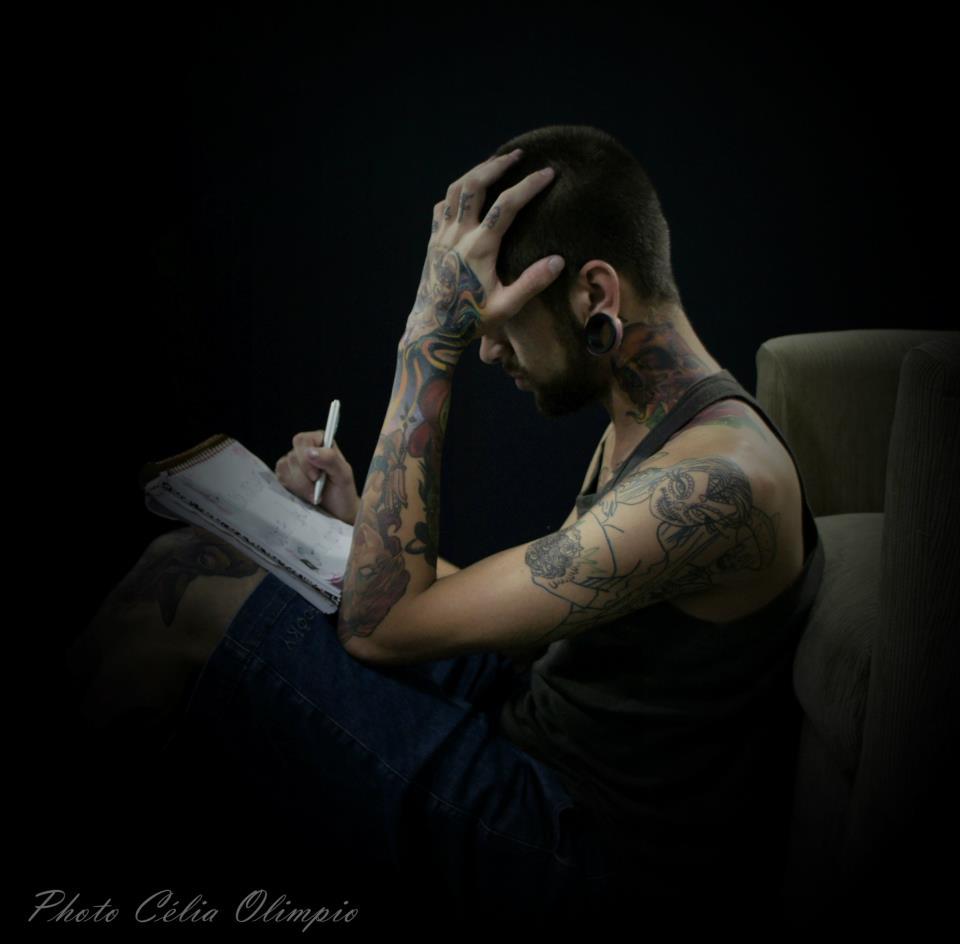 Homem Tatuado Luan dos Anjos 49
