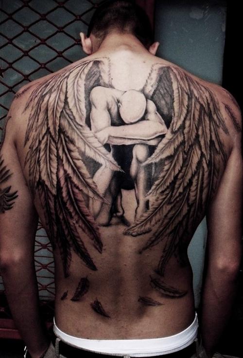 Tatuagens de Anjos 02