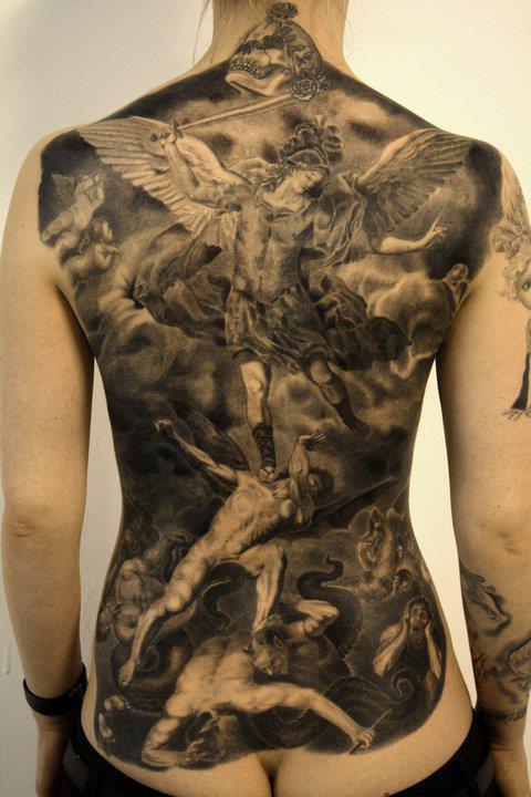Tatuagens de Anjos 03