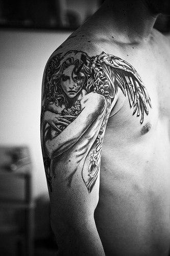 Tatuagens de Anjos 07