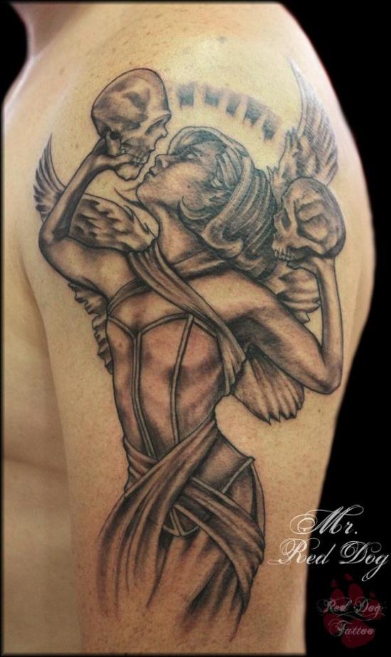 Tatuagens de Anjos 10