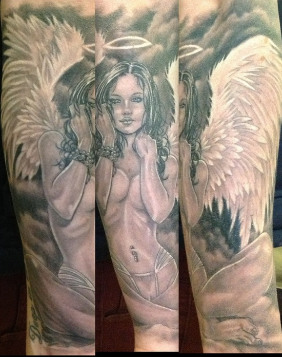 Tatuagens de Anjos 11