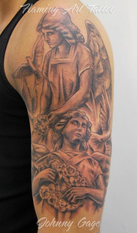 Tatuagens de Anjos 12