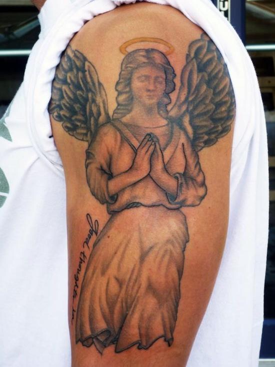 Tatuagens de Anjos 15