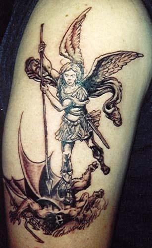 Tatuagens de Anjos 17