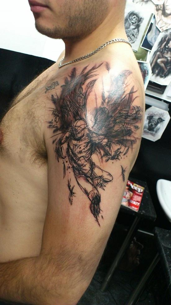 Tatuagens de Anjos 18