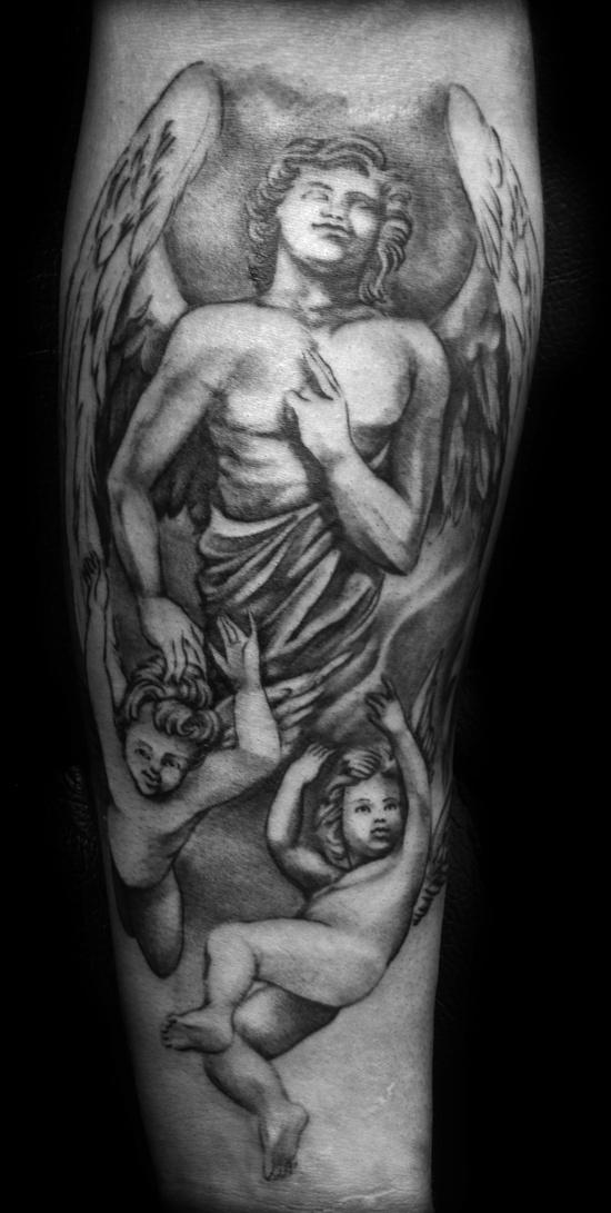 Tatuagens de Anjos 20