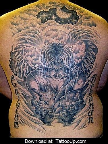 Tatuagens de Anjos 22