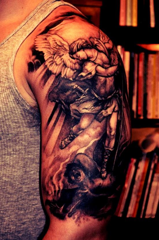 Tatuagens de Anjos 23