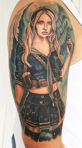 Tatuagens de Anjos 25
