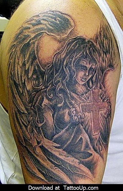 Tatuagens de Anjos 33