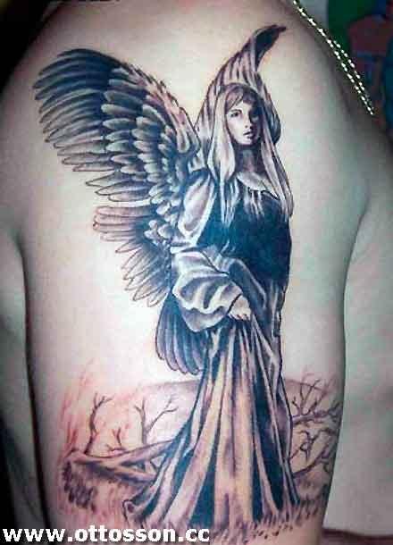 Tatuagens de Anjos 37
