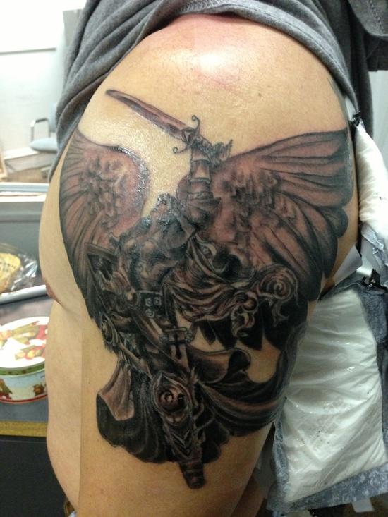 Tatuagens de Anjos 38