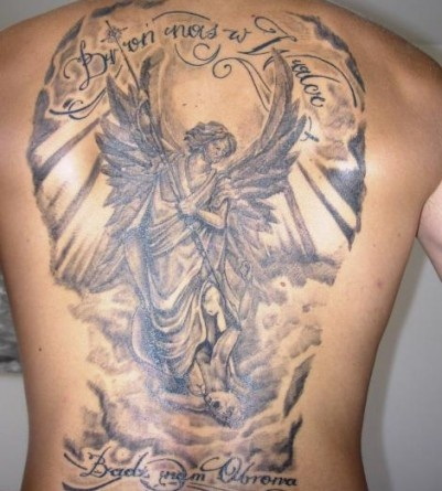 Tatuagens de Anjos 39