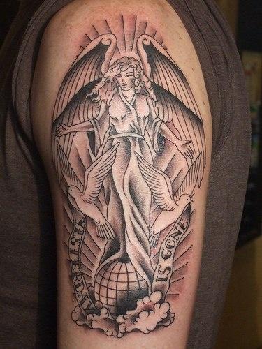 Tatuagens de Anjos 40