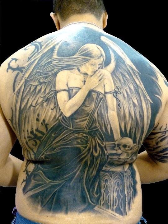 Tatuagens de Anjos 41