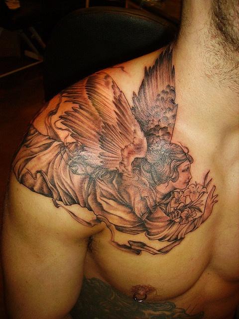 Tatuagens de Anjos 43