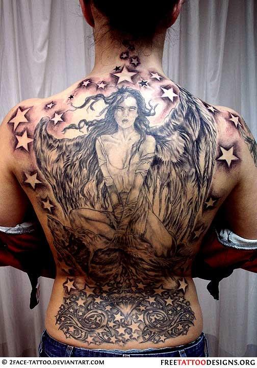 Tatuagens de Anjos 45